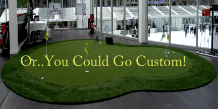 Custom Putting Greens for Your Home
