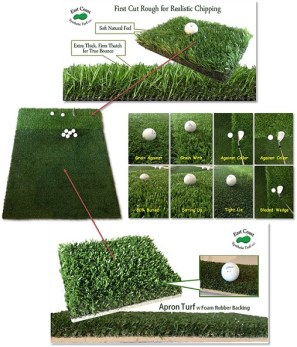 multi surface chipping mat turf