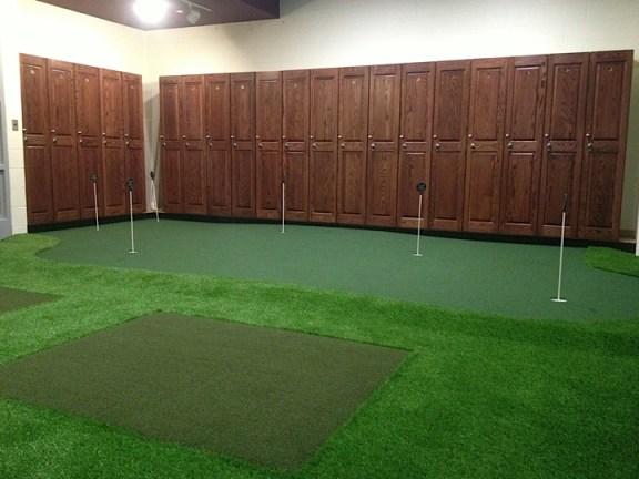 Golf Room Putting Green