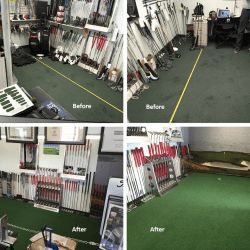 Putter Fitting Green