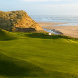 golf course on the cliffs