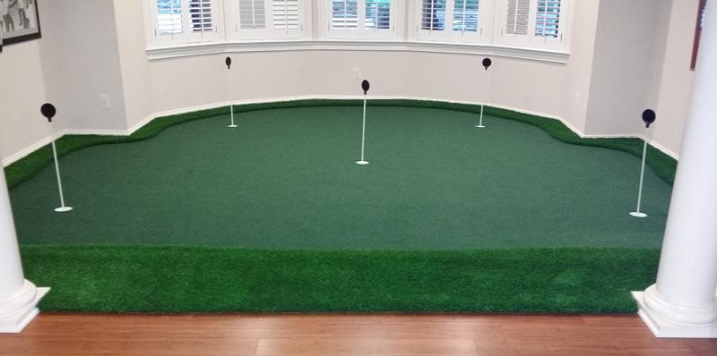 Indoor Putting Green Design