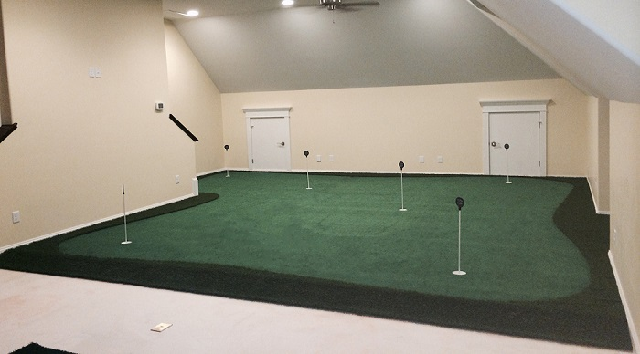 PGA Tour Player Golf Room