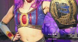 Chikara, Princess Kimberlee, Kimber Lee, Gran Champion, wrestling, title belt, championship, wwe