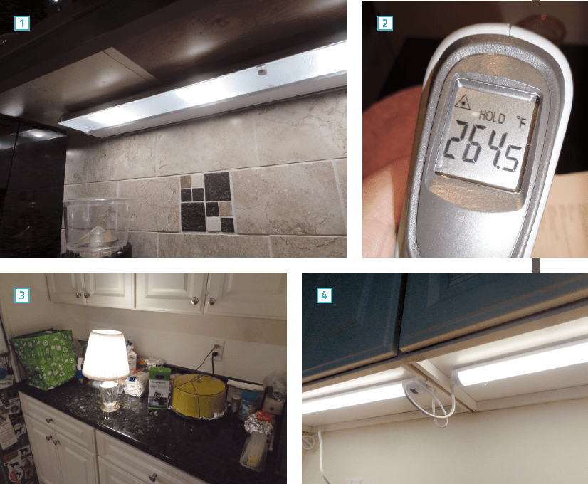 undercabinet lighting dos don ts