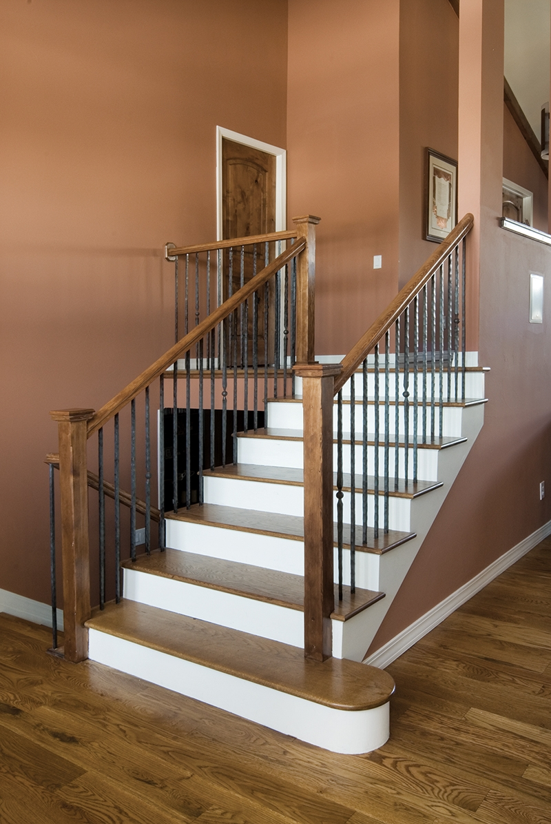 Beautiful Hazard Pro Remodeler   Building Outside Stairs To Second Floor   Handrail   Metal Staircase   Stair Treads   Stairs Leading   Spiral Stairs