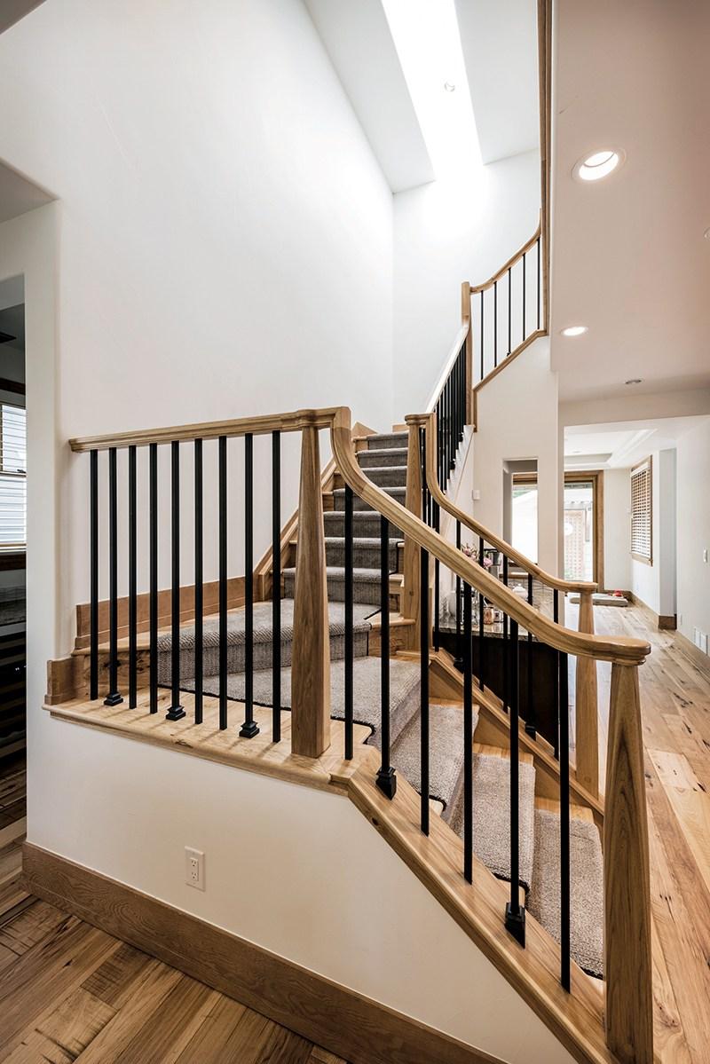 Beautiful Hazard Pro Remodeler | Outdoor Stairs To Second Floor | Rooftop Deck | Second Level | 2 Tier | Narrow | High Deck