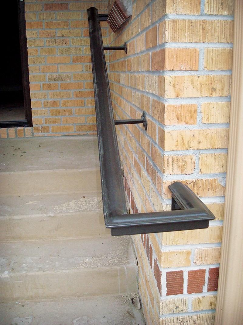 Beautiful Hazard Pro Remodeler | 2 Inch Round Wood Handrail | End Cap | Handrail Brackets | Stairs | Inch Diameter | Stair Railings