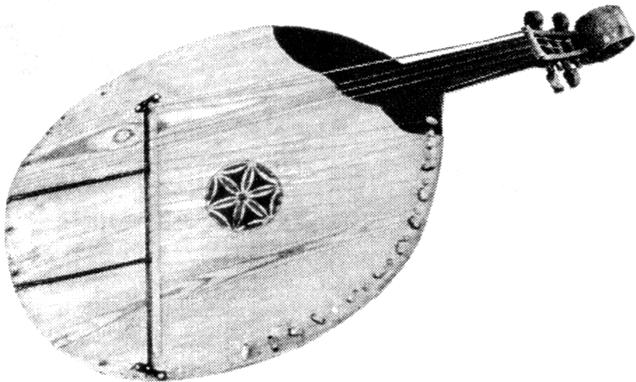 Бандура з колекції М. Лисенка. XIX ст.