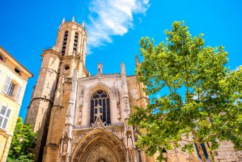 Saint,Sauveur,Gothic,Cathedral,In,Aix-en-provence,In,France