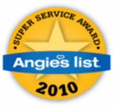 angies list super service award 2010