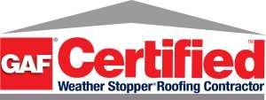 GAF certified logo