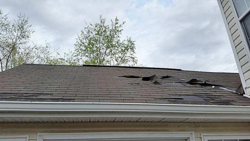 Nashville roof Missing Shingles