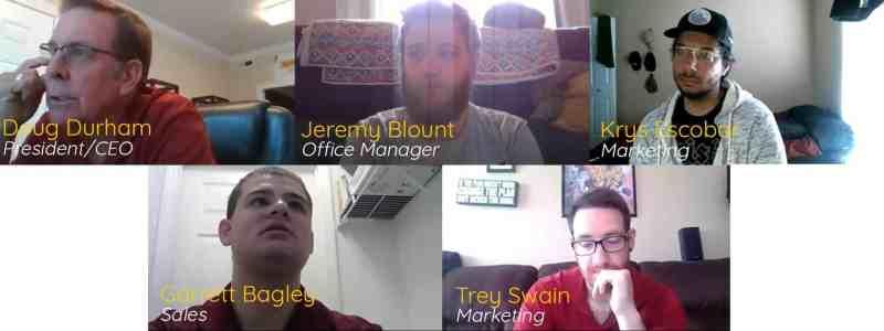 PRI Zoom meeting