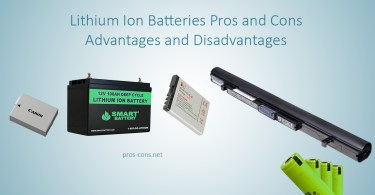 Pros and Cons of Lithium Ion Batteries