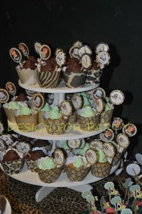 wrapers e toppers para cupcakes