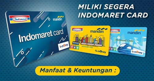 E-Money Mandiri Indomaret