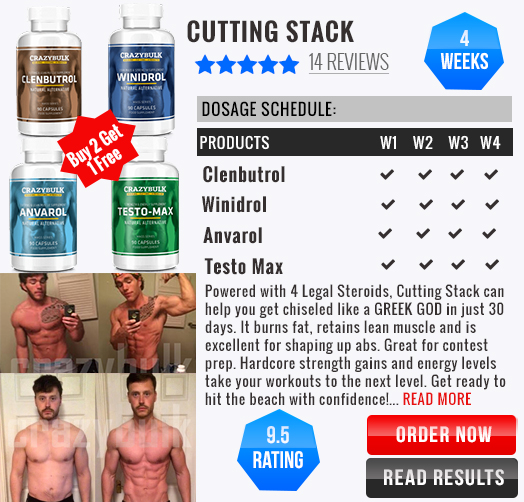 Lean Stack | Cutting Stack from Crazy Bulk