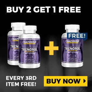 Trenorol Buy 2 Get 1 Free