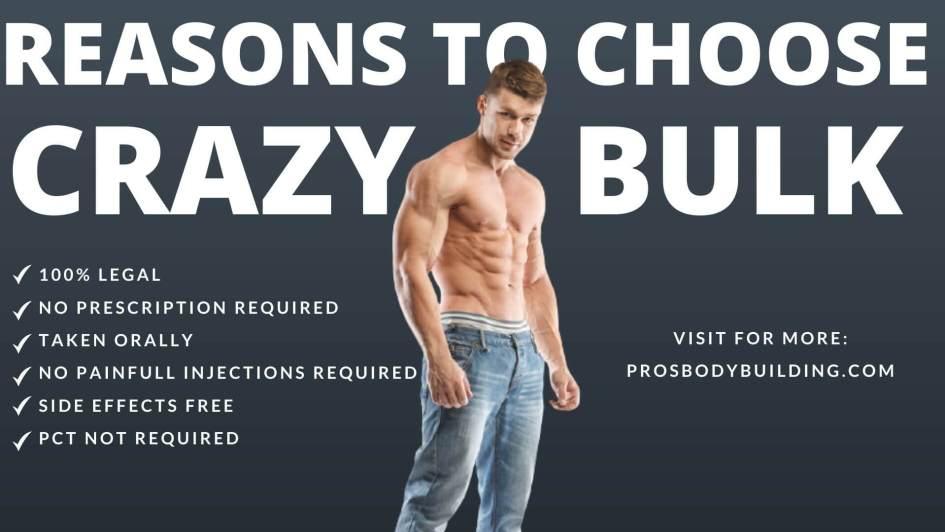 Reason to choose Crazy Bulk Cutting Stack