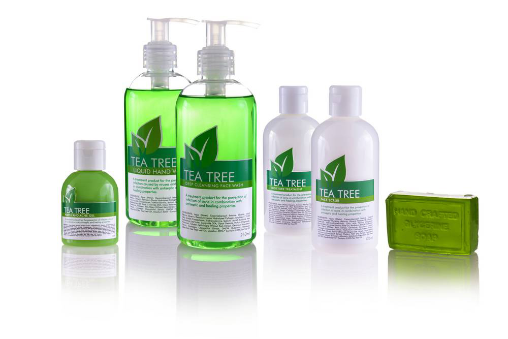 Tea Tree products_product photography