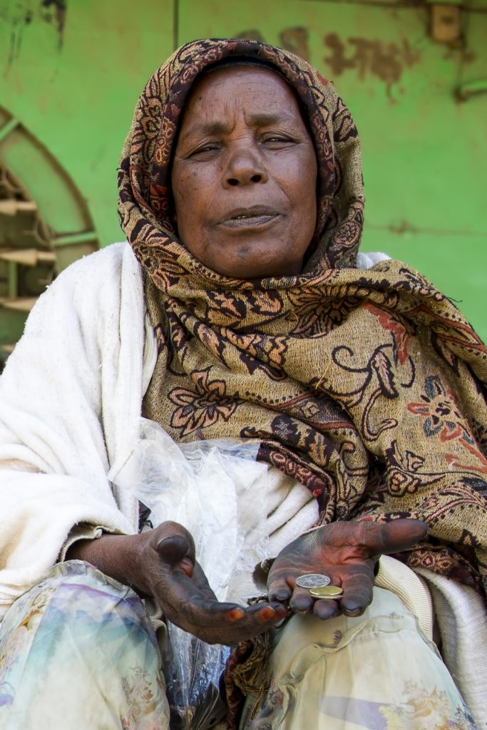 Beggar in Ethiopia | ProSelect-images