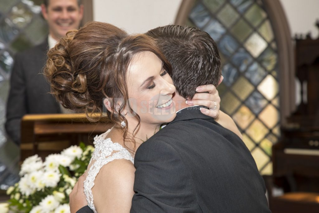 Bride and groom in church | ProSelect-images