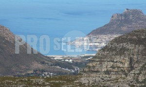 Camps Bay from Table Mountain | ProSelect-images