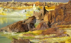 Dallol Crater Afar triangle | ProSelect-images