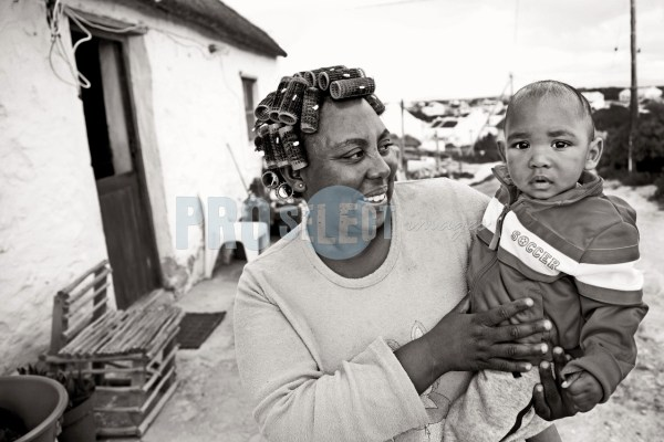 Mother with child Arniston | ProSelect-images