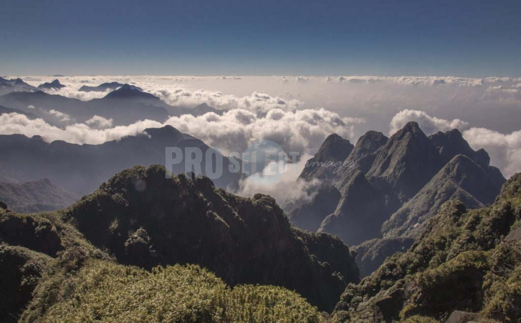 View from Fansipan mountain Sa Pa Vietnam | ProSelect-images