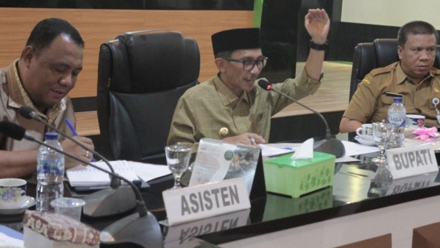 Pemkab Gorontalo, Matangkan Persiapan Kunjungan Menteri PUPR
