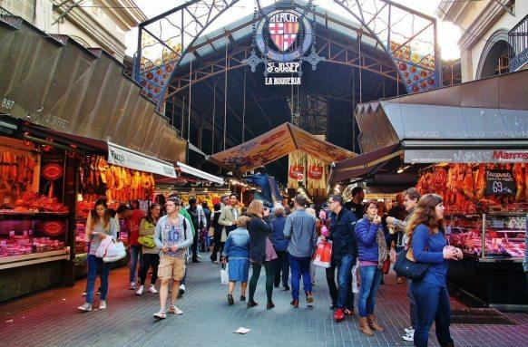 Mercado de la Boquería - Barcelona