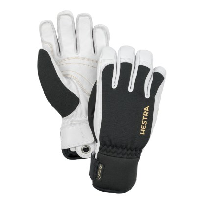 Hestra army leather, a Short and close fitting glove