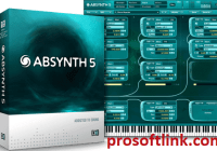 ABSYNTH 5 v5.3.1 VST Crack With Torrent Full Version 2021 (Mac/Win) Free Download