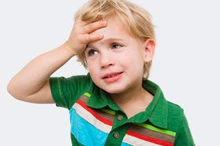 子供に頭痛がしています