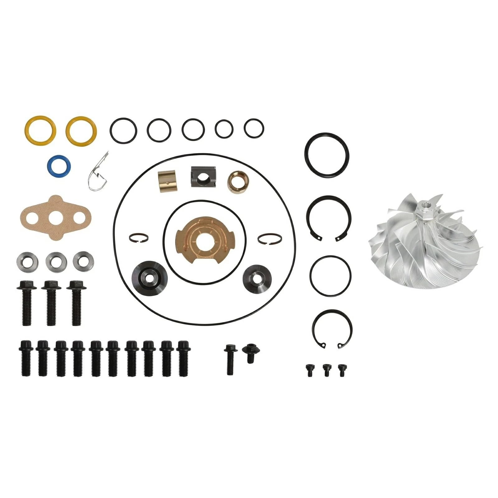 Gt Va Turbo Rebuild Kit Billet Compressor Wheel For 05