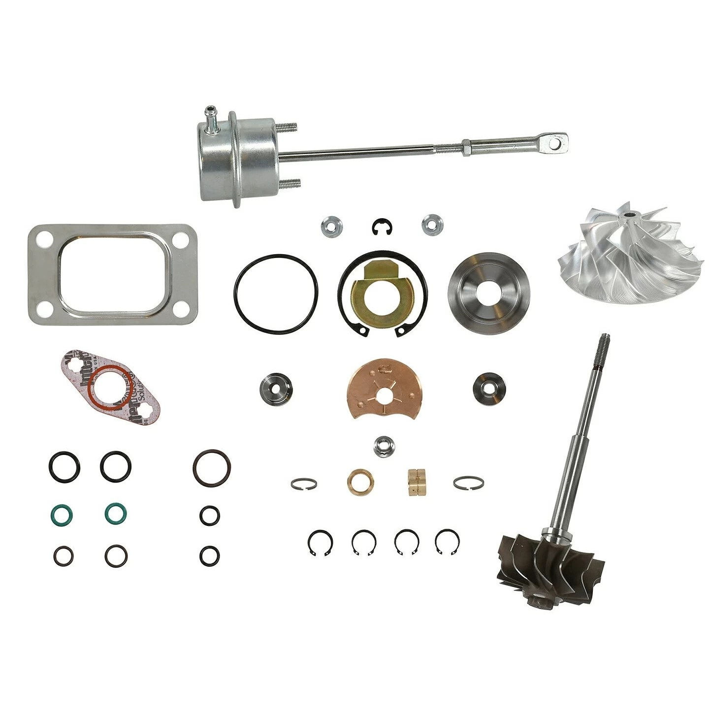 Spoologic Hy35w Turbo Rebuild Kit Cast Chra Wastegate For