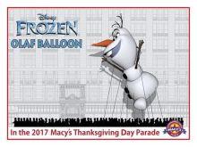 Olaf-Balloon