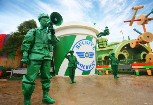 Shanghai Toy Story Land GAM