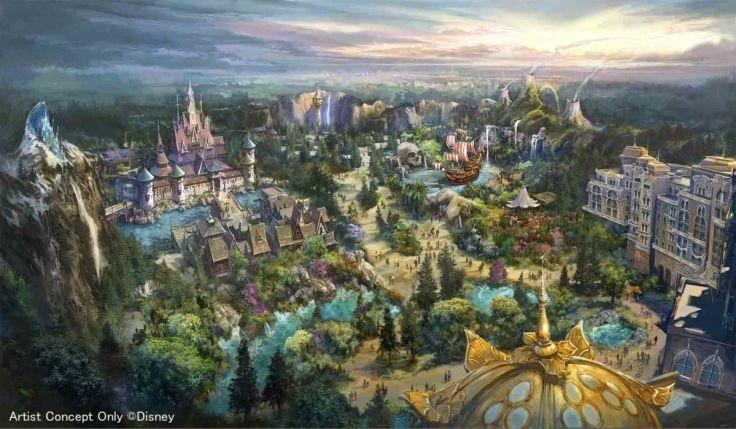 Tokyo Disney 2022 Expansion