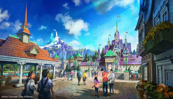 Tokyo Disney 2022 Frozen