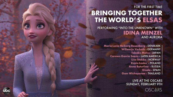 Oscars Elsa Around the World