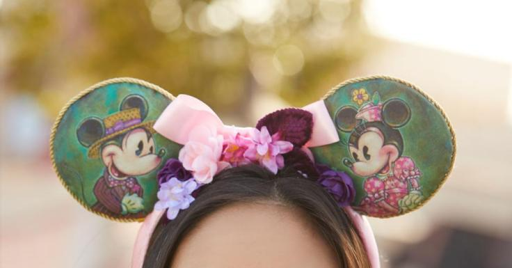 Mickey and Minnie Mouse Ear Headband for Adults by John Coulter