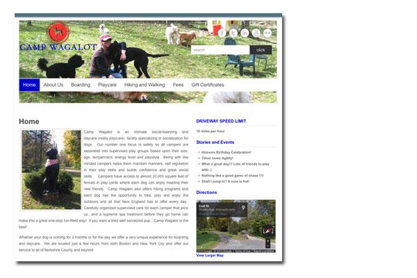 Camp Wagalot - Web Development, Social Media Integration, SEO