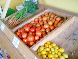 Tomatoes in Shop