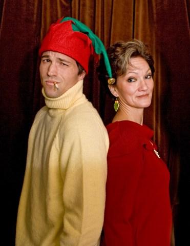 Josh Bower and Mary Pieczarca