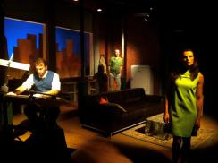Mark Dooley, David Messamer, and Angi Ciccarelli in PTP's critically acclaimed Three Days of Rain