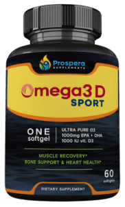 Highest Omega 3 per dose, Best Supplements for athletes