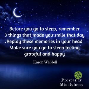 before you go to sleep.prosperitymindfulness.216